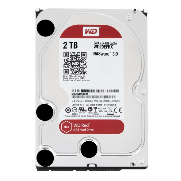 DISCO DURO 2TB WD SATA3 64MB WD20EFRX RED EDITION (NAS EDITION)