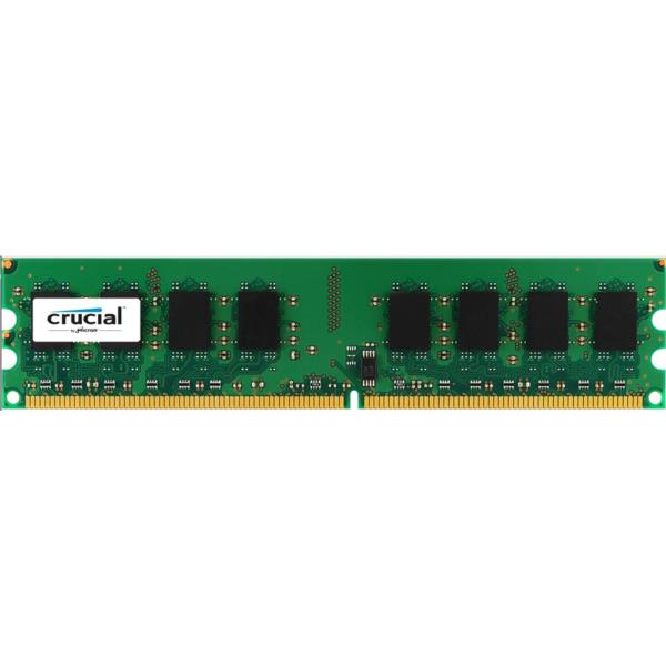 MEMORIA 2 GB DDR2 800 CRUCIAL CL6
