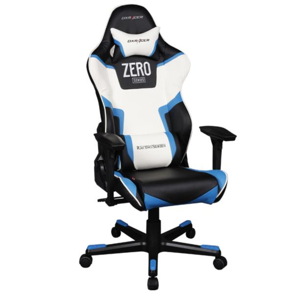 Silla gaming dxracer oh rf118 nbw racing blanca negra pcbox for Silla ordenador gaming