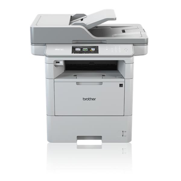 "BROTHER MFC-L6900DW - Impresora Multifunción, 50ppm, FAX, LCD 4.8"", WIFI, Blanco"