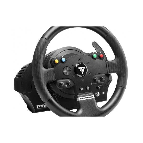 volante pedales thrustmaster tmx force feedback pc ps4 ps3 xboxone xbox360 pcbox. Black Bedroom Furniture Sets. Home Design Ideas