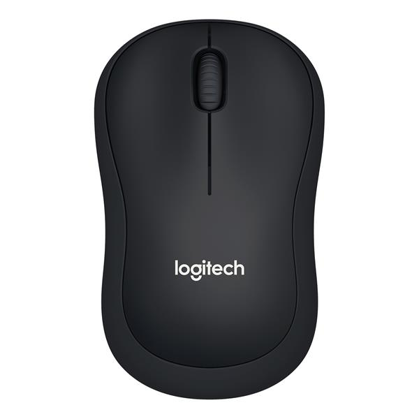 Ratón Logitech Inalámbrico M220 Silent Optical 1000 dpi Negro - PCBox