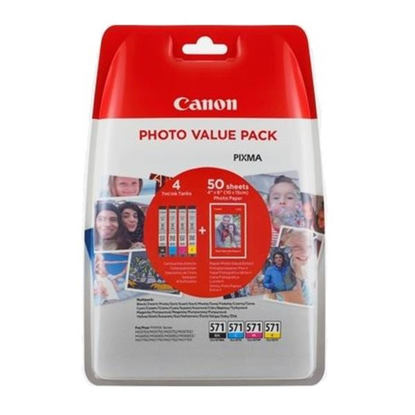 PAPEL CANON FOTOGRAFICO VALUE PACK BLISTERED