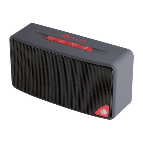 ALTAVOZ 1.0 BLUETOOTH NGS 3W ROLLER JOY GRIS
