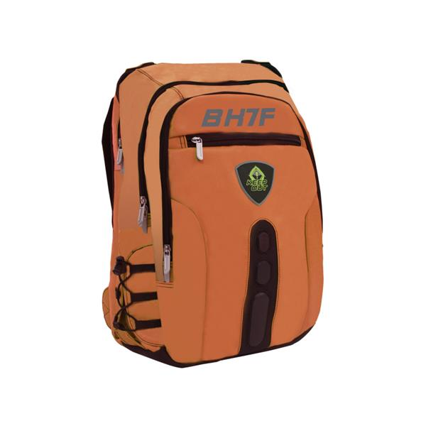 "MOCHILA GAMING 15.6"" KEEP OUT BK7FO NARANJA"