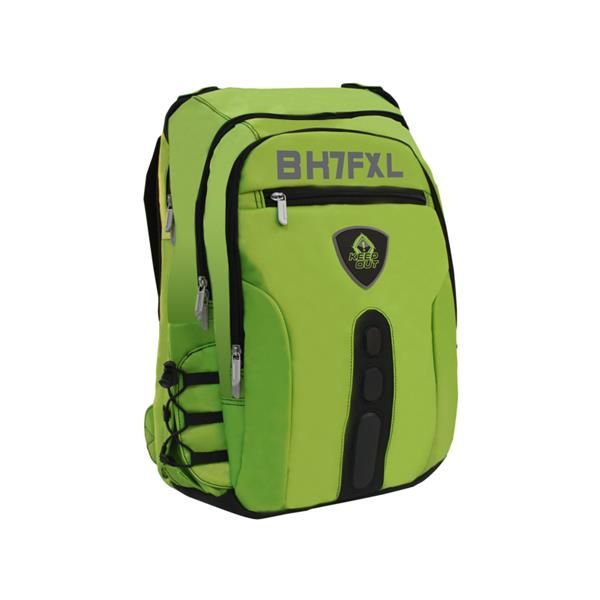 "MOCHILA GAMING 17"" KEEP OUT BK7FG XL VERDE"
