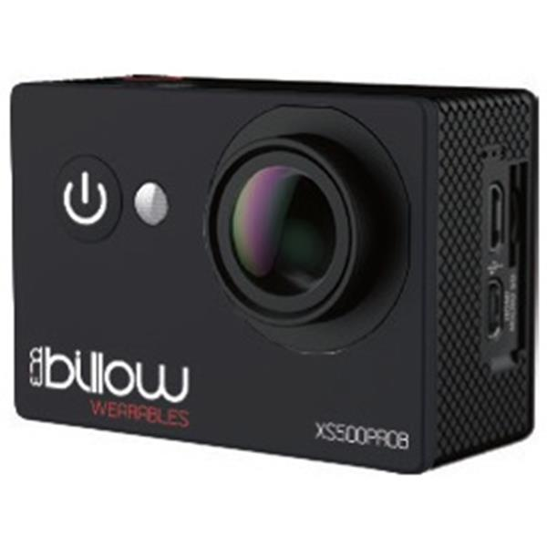 Cámara de vídeo Deportiva Billow XS600 PRO 4K Sumergible WIFI Negra - PCBox