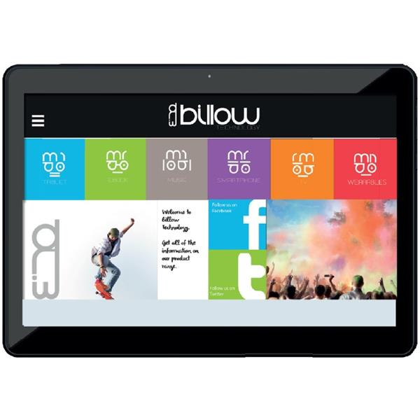 "TABLET BILLOW X101 V2 10.1"" IPS/QUAD CORE 1.2GHZ/1GB/8GB/ANDROID 7.1/BLANCO"