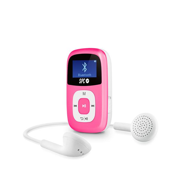 REPRODUCTOR MP3 SPC FIREFLY 8GB 8668P ROSA
