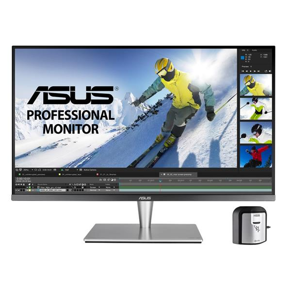 "Monitor PC Asus 32"" 3840x2160px 4K UHD Led 5ms 16:9 Negro/Gris - PCBox"