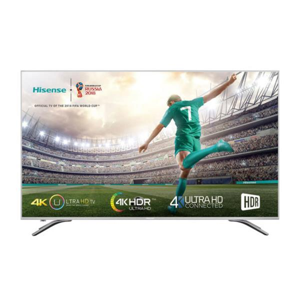"Smart TV Hisense 50A6500 – 50"", 4K Ultra HD, 3840 x 2160px, Metálico"