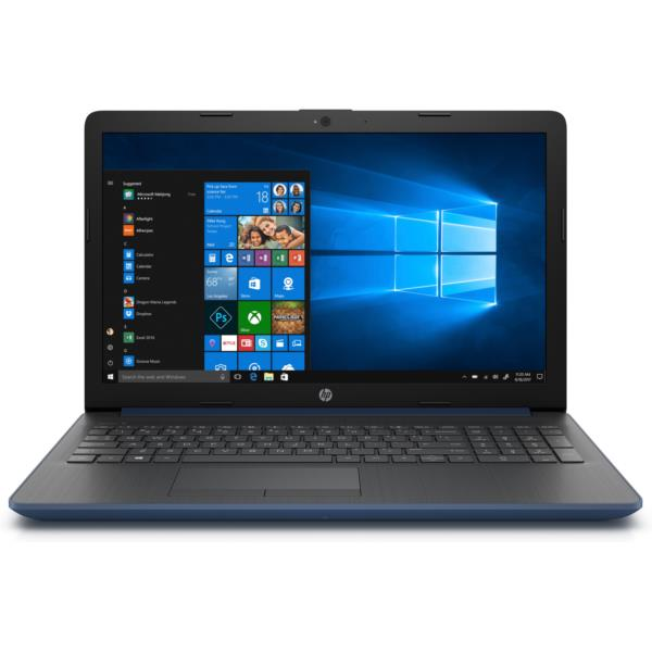 "PORTATIL HP 15-DA0017NS CORE I3-7020U 2.3GHZ/4GB DDR4/128GB SSD/15,6""/W10/AZUL"