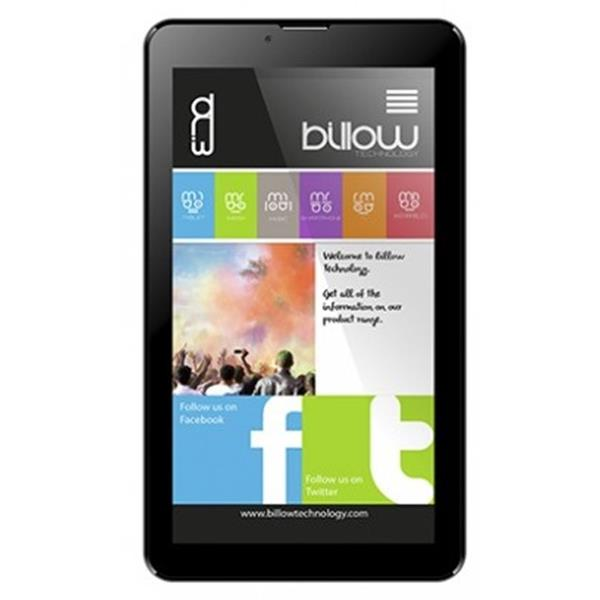"TABLET BILLOW X703 7"" IPS 3G/QUAD CORE 1.3GHZ/1GB/8GB/ANDROID 8.1/NEGRO"
