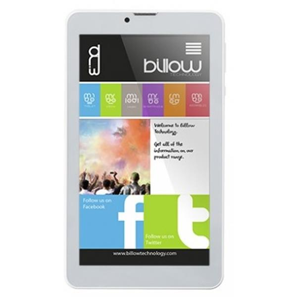 "TABLET BILLOW X703 7"" IPS 3G/QUAD CORE 1.3GHZ/1GB/8GB/ANDROID 8.1/BLANCO"