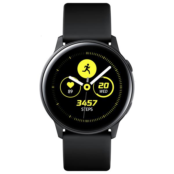 "SAMSUNG GALAXY WATCH ACTIVE 1.1""/DUAL CORE 1.15GHZ/4GB/RESISTENTE AL AGUA/NEGRO"