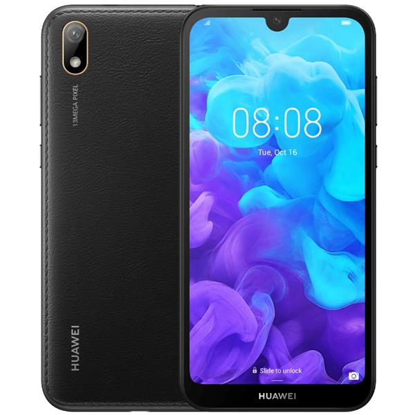 "TELEFONO MOVIL LIBRE HUAWEI Y5 2019 5.71"" HD+/4G/QUAD CORE 2.0GHZ/2GB RAM/16GB/ANDROID 9.0/NEGRO"