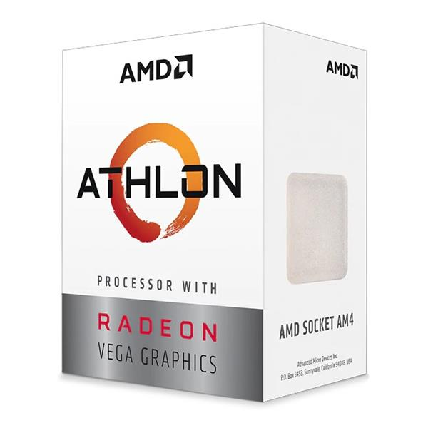 PROCESADOR AMD ATHLON 3000G 3.5GHZ SKT AM4 5MB CACHE VEGA3
