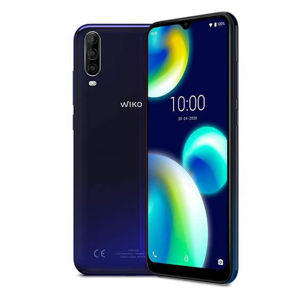 """TELEFONO MOVIL LIBRE WIKO VIEW4 LITE 6.52"""" IPS/ OC 1.8Ghz/2GB/ 32GB/ AND 10.0/BLUE"""