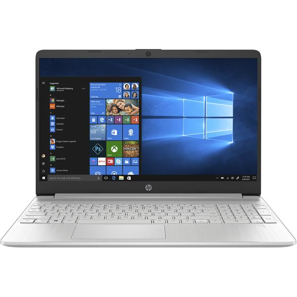 "PORTATIL HP 15s-fq1123ns CORE i7-1065G7 1.30GHZ/8GB/512GB SSD/15,6""/W10/PLATA"
