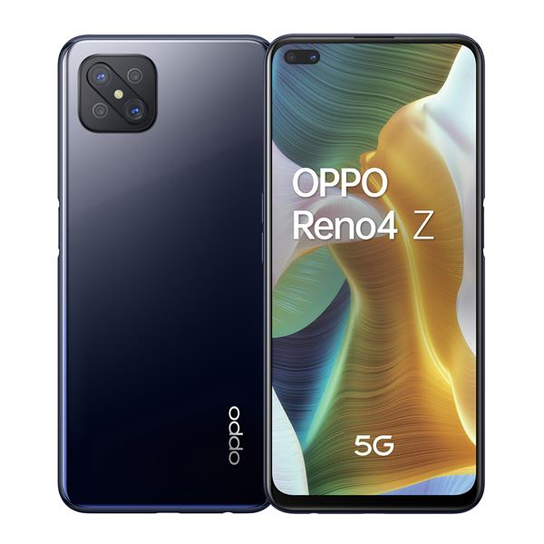 "TELEFONO MOVIL LIBRE OPPO RENO4 Z 6.57"" FHD+ / 5G/ OCTA CORE 2.0GHZ / 8GB RAM/ 128GB /AND 10/BLACK"