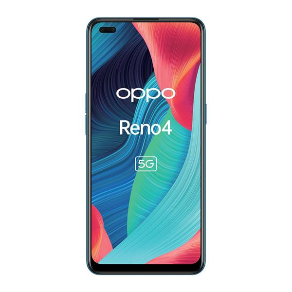 "TELEFONO MOVIL LIBRE OPPO RENO4 6.4"" FHD+ / 5G/ OCTA CORE 2.0GHZ / 8GB RAM/ 128GB /AND 10/GALACTIC BLUE"