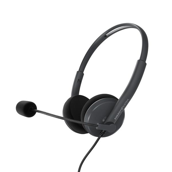 AURICULARES + MICRO ENERGY SISTEM ANTHRACITE  USB