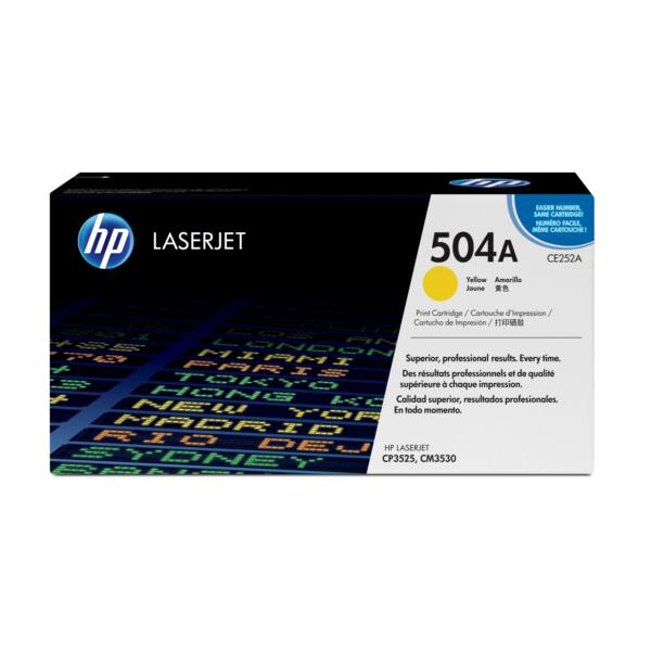 TONER HP LASERJET COLOR AMARILLO CE252A