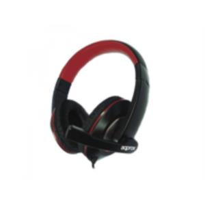 AURICULARES + MICRO APPROX APPHS04PRO PROFESIONAL NEGRO-ROJO