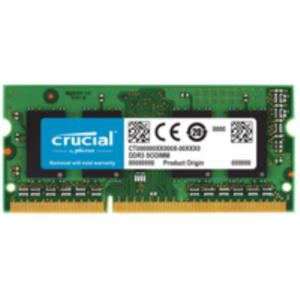 MEMORIA PORTATIL 8 GB DDR3 1333 CRUCIAL CL9