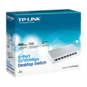 SWITCH 8 PUERTOS 10/100 TP-LINK TL-SF1008D