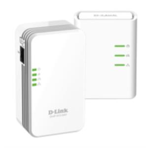KIT 2 ADAPTADOR DE HOMEPLUG 500MBPS D-LINK + WIFI N