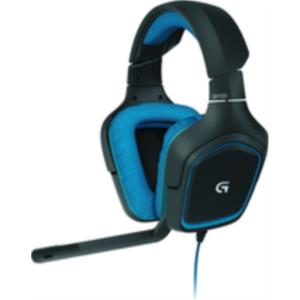 AURICULARES + MICRO LOGITECH G430 GAMING 7.1 USB