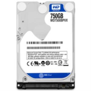 DISCO DURO PORTATIL 750GB WD SATA3 5400RPM 8MB 9.5MM BLUE