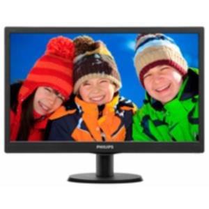 "MONITOR 18.5"" PHILIPS 193V5LSB2 LED 1366x768 NEGRO"