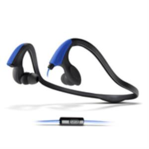 AURICULARES + MICRO ENERGY SISTEM RUNNING TWO NEON AZUL SMARTPHONE