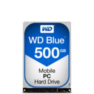DISCO DURO PORTATIL 500GB WESTERN DIGITAL SATA3 5400RPM 7MM CAVIAR BLUE