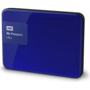 DISCO DURO EXTERNO 1TB WESTERN DIGITAL MY PASSPORT ULTRA 2.5´´ USB 3.0 AZUL