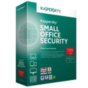 ANTIVIRUS KASPERSKY SMALL OFFICE SECURITY V4 5 PCs + 1 SERVIDOR ESPAÑOL 1 AÑO