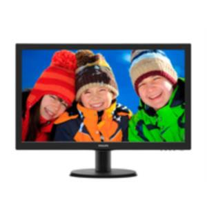 "MONITOR 23.6"" PHILIPS 243V5LHSB LED 1920 X 1080 HDMI/DVI/VGA"