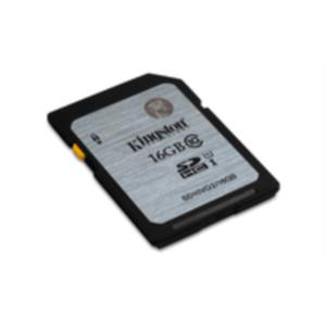MEMORIA 16 GB SDHC KINGSTON CLASE 10 UHS-I