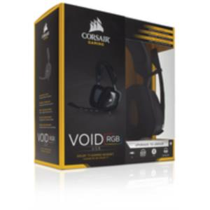 AURICULARES + MICRO CORSAIR VOID USB DOLBY 7.1 RGB NEGRO