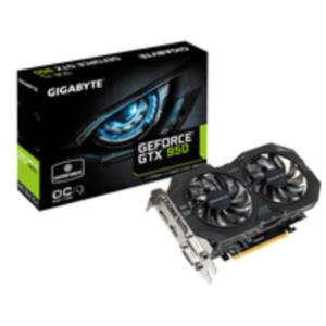 TARJETA GRAFICA 2GB GIGABYTE GTX950 WINDFORCE 2X OC PCX3.0 DDR5 HDMI