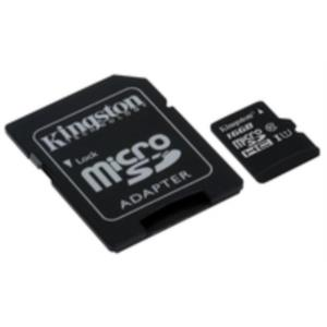 MEMORIA 16 GB MICRO SDXC KINGSTON UHS-I CLASE 10