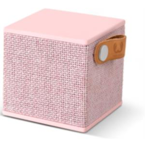 ALTAVOZ 1.0 BLUETOOTH FRESH ´N REBEL ROCKBOX CUBE FABRIC EDITION ROSA