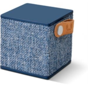 ALTAVOZ 1.0 BLUETOOTH FRESH ´N REBEL ROCKBOX CUBE FABRIC EDITION AZUL