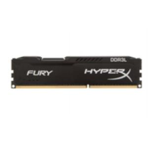 MEMORIA KIT 8 GB (2X4 GB) DDR3 1600 HYPERX FURY BLACK CL10