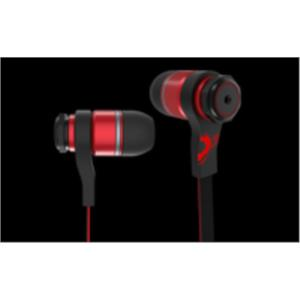 AURICULARES + MICRO OZONE TRIFX IN-EAR NEGRO/ROJO JACK 3.5MM