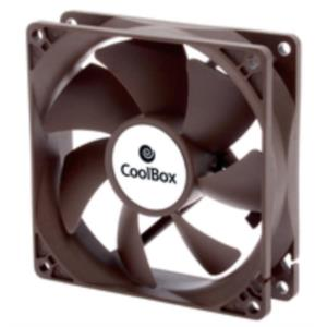 VENTILADOR COOLBOX 8 CM MARRON 1600RPM