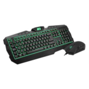 PACK TECLADO + RATON B-MOVE DELTA FORCE GAMING NEGRO USB