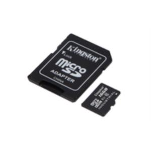 MEMORIA 16GB MICRO SDHC KINGSTON UHS-I CLASS 10 + ADAPTADOR SD